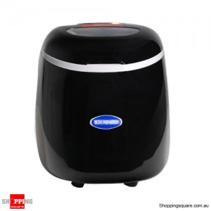 Ice Cube Maker Machine-Black Automatic 2.0 Litres Capacity