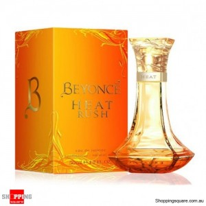 Heat Rush By Beyonce 100ml EDT Spray For Women Perfume