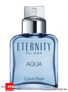 Eternity Aqua 100ml EDT Spray by Calvin Klein For Men Perfume