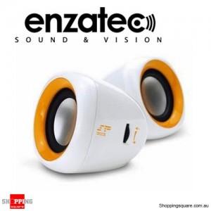 Enzatec SP303 2.0 Speaker 2x2W 3.5mm Plug Powered by USB