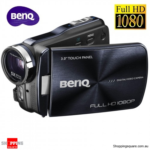BenQ M23 Digital Video Camera Full HD 1080p Camcorder with Night Vision, 5x Optical Zoom