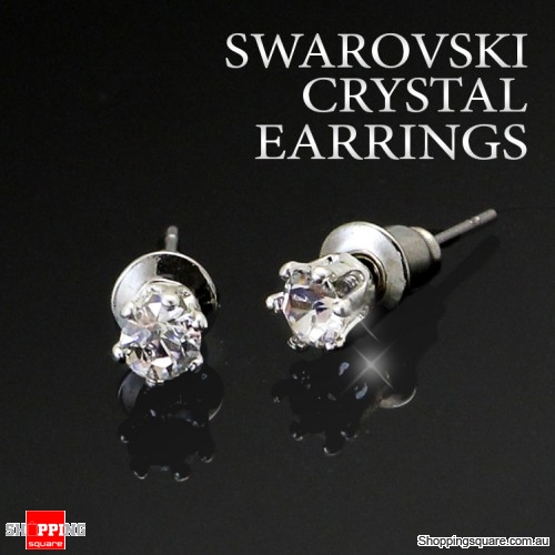 Swarovski Crystal Pierced Earrings