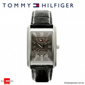 Tommy Hilfiger Classic with Black Strap Mens Watch