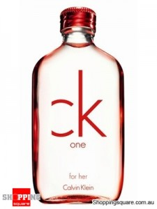CK One Red Edition 100ml EDT by Calvin Klein For Women Perfume