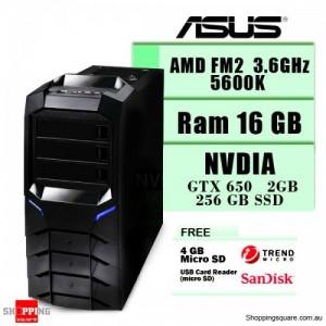 AMD Real Gaming Computer - 5600K Quad-Core Black Edition