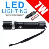 Cree Combo: Cree T6 LED Flashlight Torch 7W 900 Lumens + 1x 18650 Li-ion Battery + Car Charger