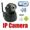 Wireless IP Network Security Camera For Monitoring - iPhone and Android compatible