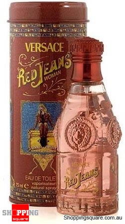Versace Red Jeans 75ml EDT by VERSACE for Women Perfume