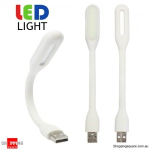 Portable USB Flexible Ultra Bright LED Light for PC Powerbank Adapter White Colour