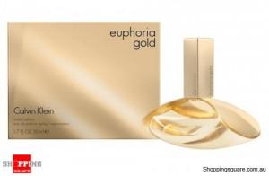 CK Euphoria Gold 50ml EDP by Calvin Klein For Women Perfume