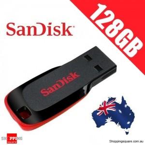 SanDisk Cruzer Blade 128GB USB Flash Drive Memory