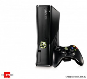Xbox 360 250GB Slim Console Black - REFURBISHED