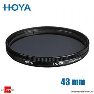 Hoya Circular Polarizer Filter 43mm for Camera Lens