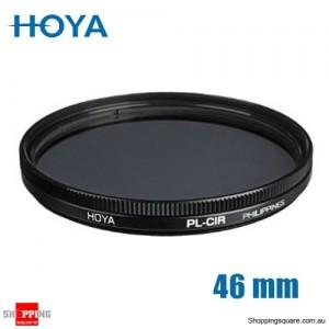 Hoya Circular Polarizer Filter 46mm for Camera Lens