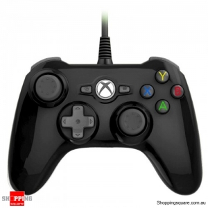 Xbox One Mini Wired Controller - Black (Also Support Windows PC)