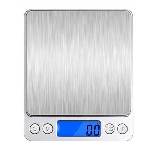 0.1g 2000g Mini Digital Pocket Electronic Kitchen Jewelry Scale Balance Supports Multi-unit Conversion