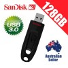 SanDisk Ultra 128GB USB 3.0 Flash Drive Memory Stick Pendrive Up to 100MB/s