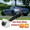 170 Degrees Wide Angle Waterproof Car Auto Rear View Back Camera for Reversing Backup Parking Silver Colour