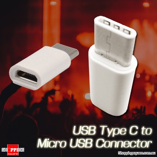 USB 3.1 Type C Male to Micro USB Female Adapter for Samsung Galaxy S9 S8 Note 8