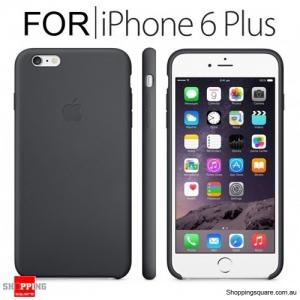 Genuine Apple iPhone 6, 6S Plus Silicone Case Black Colour