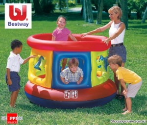 Bestway Kids Inflatable Jumping Tube Gym