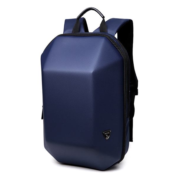 Men's Hard Shell Backpack Laptop Bag Blue Colour