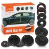 MATCC Car Door Seal Kit for Tesla Model 3 EPDM Self-Adhesive Soundproof Rubber Accessories Weatherstrip Wind Noise Reduction