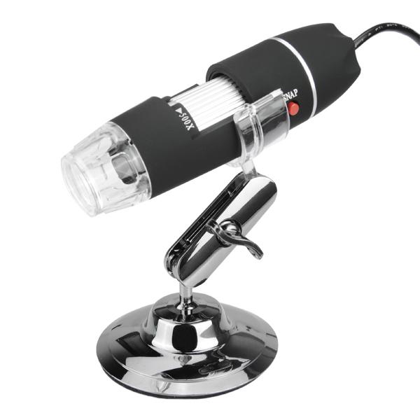 50X-500X USB 8 LED 2MP Digital Microscope Endoscope Video Camera Magnifier