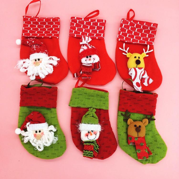 Xmas Socks Decoration